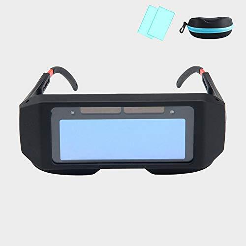 Umiwe Occhiali Oscuranti per Saldatura Auto Solare Occhi Protettivi Protezione per Saldatore Occhiali per Macchina Maschera per Saldatura Maschere per Filtri Lenti