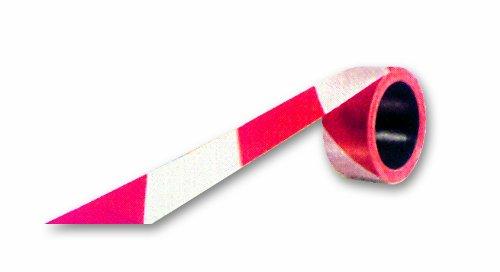 Chapuis RS100 Signalband - Polyethylen rot/weiß - Breite 50 mm - Länge 100 m