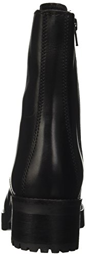Cult Metallica Mid 1804, bottes de motard femme Noir (Black)