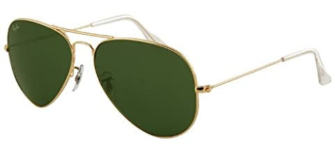 Ray-Ban 3025 L0205 Aviator Sunglasses Gold - size One Size