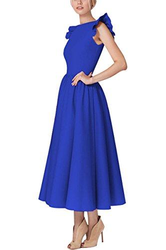 YMING Damen Cocktailkleid Vintage Kleid Wadenlanges 1950er Partykleid Retro KleidGroße...