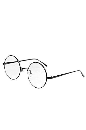 Vococal - Montatura Occhiali da Vista Occhio Frame Struttura Vetri Ottici Pianura Occhiali con Lenti Trasparenti per Donne Signore Ragazze Z2f7F2C