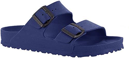 Birkenstock Herren ARIZONA EVA Pantoletten, Blau (Navy 31), 43 EU