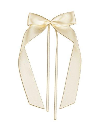 20 Antennenschleifen, Deko Schleifen, Hochzeit, Autoschmuck, Autoschleifen, Beige