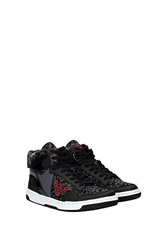2880205A29900020 Armani Emporio Sneakers Damen Stoff Schwarz Schwarz