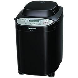 Panasonic SD-2511 - Panificadora de 550W para panes, masas, compotas y mermeladas (33 programas automáticos, dispensador inteligente, temporizador digital 13H, sensor de temperatura) color negro
