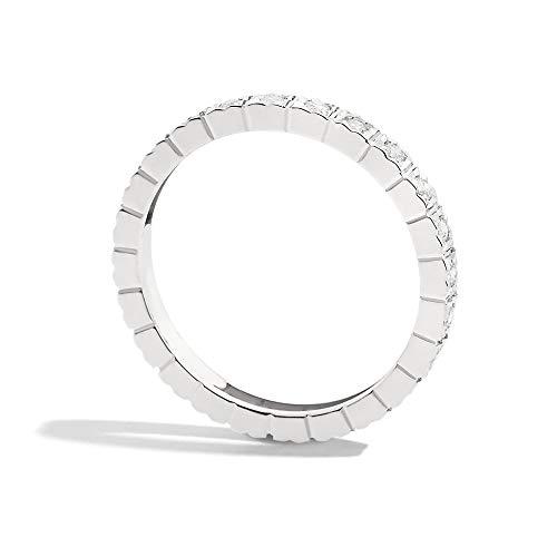 Zoom IMG-1 recarlo anello girodito oro bianco