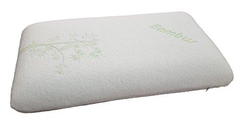 Unbekannt 70x40cm Bambus Multifunktionskissen in tragbarer Tasche/Wellness Kissen orthopädisches Kopfkissen Soft Memory Schaum