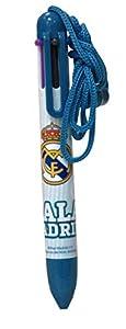 Real Madrid Boligrafo 6 Colores