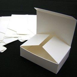 6x Kleine Geschenkschachteln 8,7x6,2cm Bastelzubehör für Schokolade, Mini Süssigkeiten (Craft Geschenkboxen)