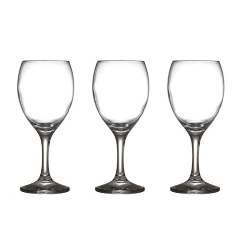 glass4you 3 Verres à Pied Imperial - 25,5 cl.