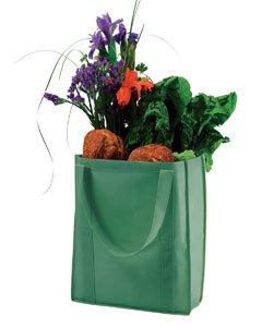Non-Woven Grocery Tote GREEN OS (Hand-woven-handtasche)