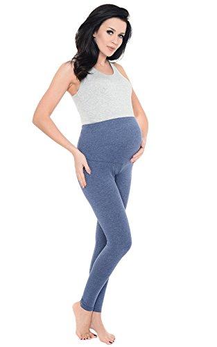 Purpless Maternity Modern Elastisch Uber Bump in Voller Lange Leggings 1025 Jeans Melange