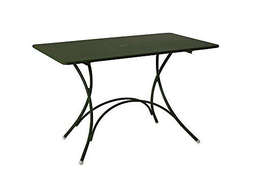 Emu - Pigalle Klapptisch - rechteckig - dunkelgrün - Design - Gartentisch - Outdoortisch -...