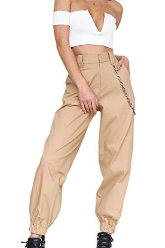 La Mujer Casual Harem Pantalones De Pierna Ancha
