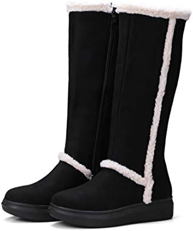 Sandalette-DEDE Scarpe da Donna Stivali Alto Tubo Stivali da Neve, Neve, Neve, Autunno - Inverno Conforto, a Fondo Piatto... | economia  63b3eb