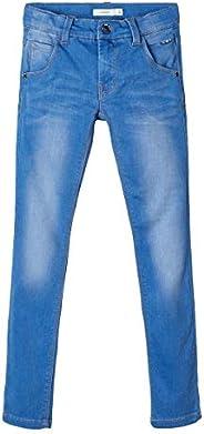 NAME IT Nitclas XSL Dnm Pant Nmt Noos Pantalones para Niños