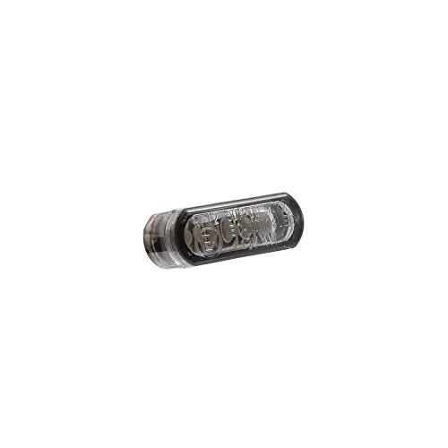Preisvergleich Produktbild Micro-Blinker LED Rounded Smoke 21, 5 x 8 mm Motorrad 1 Stück