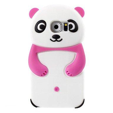 Étuis magnifiques, couvertures, Vente chaude belle 3d animaux panda forme ours silicium cas de téléphone mobile douce couverture arrière la peau pour les mini / s3min de ( Couleur : Incarnadin , Modèles Compatibles : Galaxy S3 Mini )