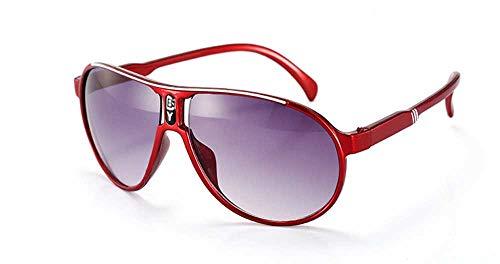 Whycat brillenfassungen damen retro Sonnenbrille für Kinder UV-Schutz, Kinder Sonnenbrille UV, Baby Sonnenbrille Alter 3-12(rot)