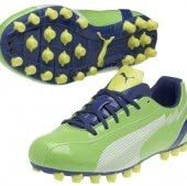 Puma - botas de futbol junior evospeed 5 ag, color verde, talla 36