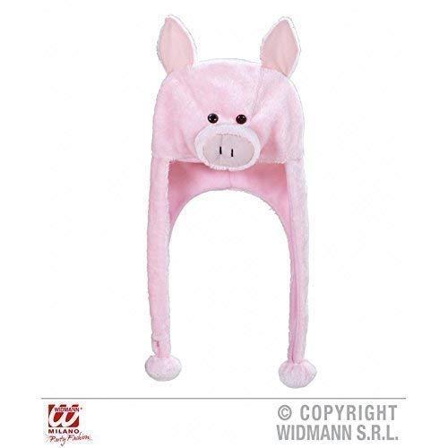 Lively Moments Tiermütze kleines Schweinchen mit Langen - Schweinchen Kostüm