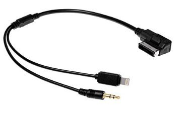 VW Music Audi MDI AMI MMI Interface AUX Lightning Cable