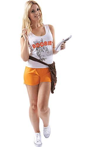 Dress Hooters Fancy Kostüm - Meine Damen Feltham Tölpel Hooters Einheitliche Kellnerin Kostüm Medium