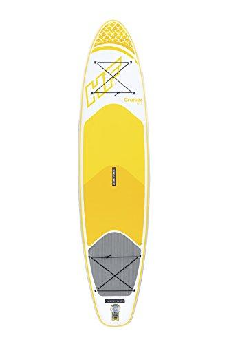 Bestway Hydro-Force SUP Cruiser Tech, stabiles und leichtes Stand-up-Paddling Board aufblasbar, 320x76x15 cm