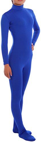 x Unitard für Erwachsene und Kinder Gr. S, Mehrfarbig - Blau (Kinder Morphsuit Blau)
