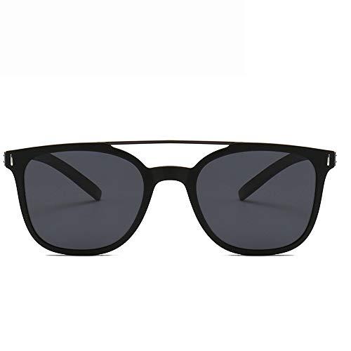 Yiph-Sunglass Sonnenbrillen Mode Sonnenbrille Aviator polarisierte Gläser für Frauen Augenschutz Sonnenbrillen (Farbe : Schwarz, Größe : Casual Size)