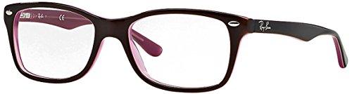 RAYBAN Damen Brillengestell 0RX 5228 2126 50, Schwarz, 53