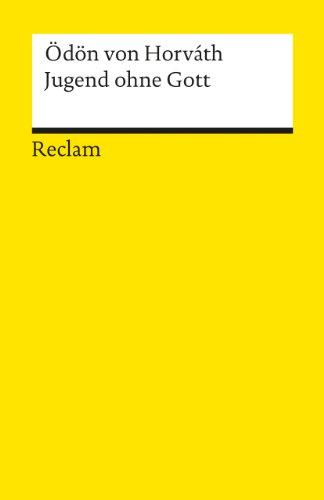Jugend ohne Gott: Roman (Reclams Universal-Bibliothek)