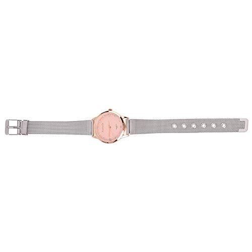 Watch - TOOGOOR Wristwatch Silver Alloy Dial Color Rose Gold Quartz Women