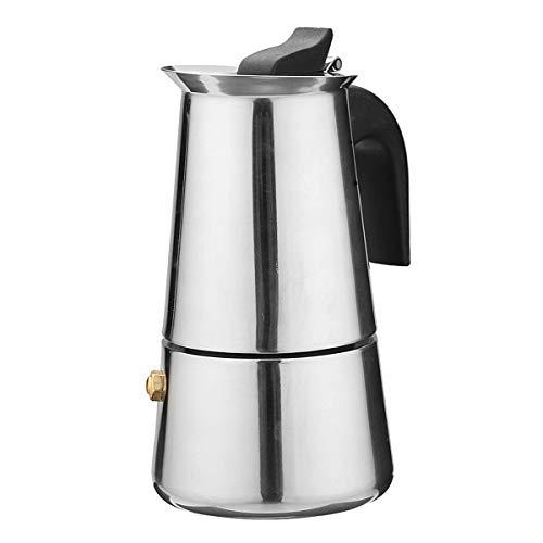 DyNamic 100ml percoladora estufa Top espresso moka cafetera cafetera olla acero inoxidable