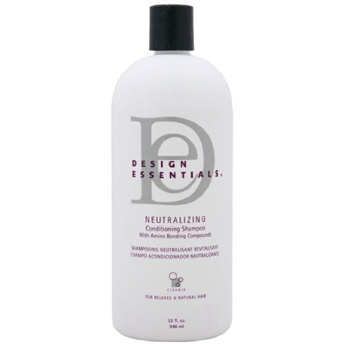 Design Essentials Neutralizing Conditioning Shampoo with Olive Oil, Honey and Milk Protein 32 Oz by Design Essentials (English Manual)