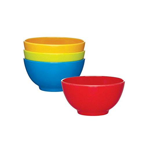 Price comparison product image Miniamo Bright Bowls, Assorted Colours 4 per pack - Pack of 2