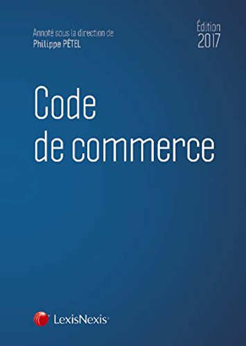 Code de commerce 2017