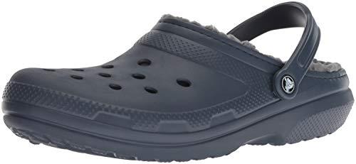 crocs Schuhe Classic Lined Clog 203591 Navy/Charcoal 49-50