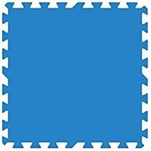 Gre MPF509 - Protector de Suelo para Piscina, 9 piezas, Color Azul, 4