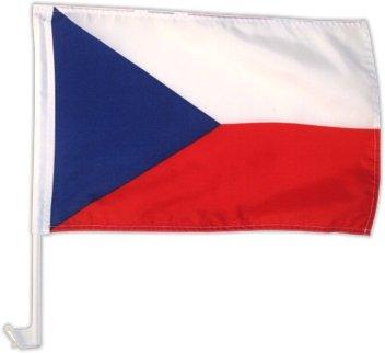 Autofahne Autoflagge Tschechien 30 x 45 cm -