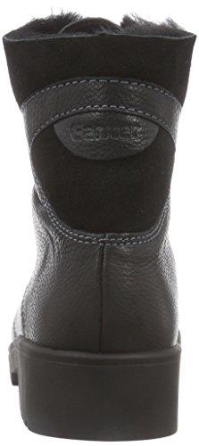 Ganter Ellen-Stiefel Weite G Damen Kurzschaft Stiefel Schwarz (schwarz 0100)