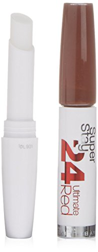 Gemey Maybelline Gloss Super Stay 24 heures Rouges à lèvres 575 Always Crimson