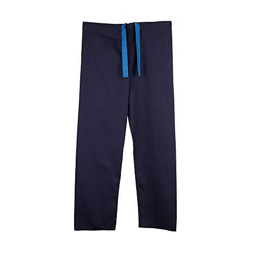 Unisex Budget Medical Scrub TROUSERS - 7 colours available - Navy, Blue, Green and more