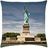 Lady Liberty - Throw Pillow Cover Case (18 (Lady Liberty-cover)