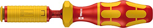7444 VDE Kraftform einstellbarer Drehmoment-Handhalter, 9 mm Hex, 1,7 - 3,5 Nm, Wera 05074757001