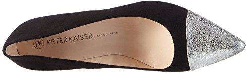 Peter Kaiser  PANDORA, Chaussures à talons - Avant du pieds couvert femme Noir - Schwarz (WEISS RISTAL SCHWARZ  SUEDE 768)