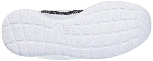 Nike Wmns Roshe One Print Prem, Scarpe da Corsa Donna Multicolore (Nero/Bianco)