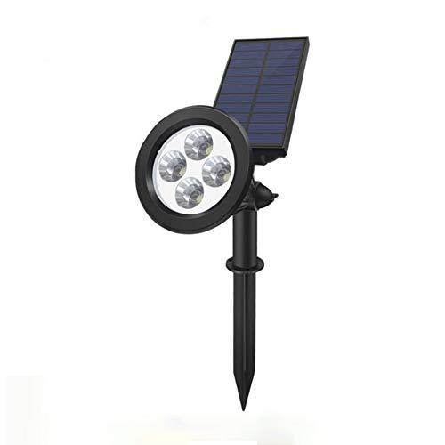 HZL Solar Rasen Licht 4LED Outdoor Wasserdichte Lichtsteuerung Gartenbeleuchtung Hof Landschaft Licht -