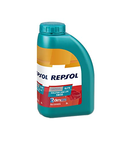 Repsol Evolution Long Life 5W30 Elite-Olio motore 1 L